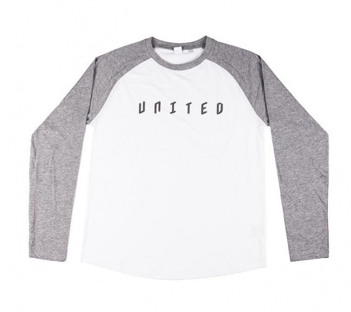 Triko United BASEBALL Grey